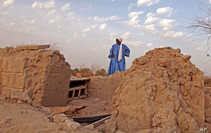 United Nations-Mali-Restoring Mausoleums