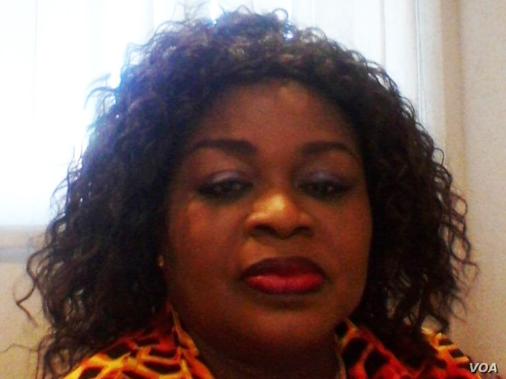 Mrs. Silvia Annoh, spokesperson for the Electoral Commission of Ghana (Photo courtesy, Silvia Annoh).