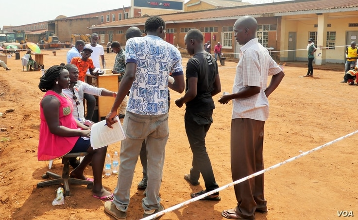 A polling station located near Uganda's Electoral Commission headquarters in Kampala remained largely empty during voting, despite President Yoweri Museveni urging citizens to vote for their local leaders.