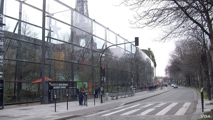 The Quai Branly museum in Paris houses the vast majority of France's artefacts from Africa.