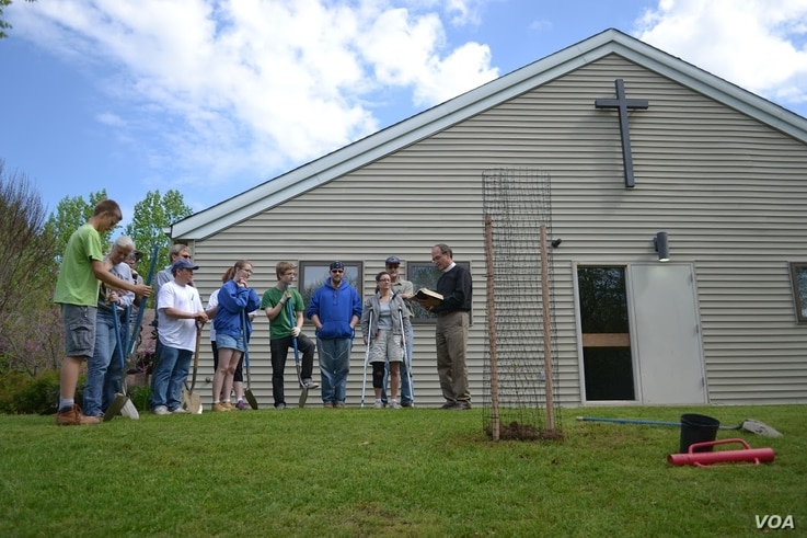 All Saints Lutheran Church, Bowie, MD.  (Credit: Alliance for the Chesapeake Bay)