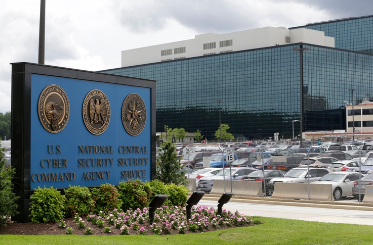 FILE - The National Security Administration campus in Fort Meade, Md., where the U.S. Cyber Command is located. The U.S. military has launched a newly aggressive campaign of cyberattacks against Islamic State militants.