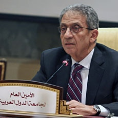 Arab League Secretary General Amr Moussa (File)
