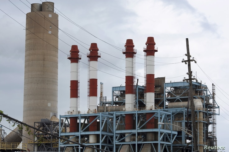 The power station Central San Juan of Puerto Rico Electric Power Authority (PREPA) is seen in San Juan, Puerto Rico, June 30, 2015.