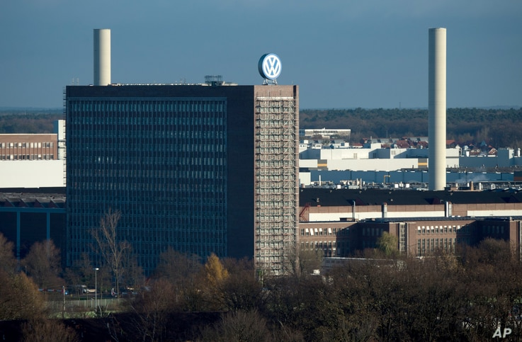 View of the Volkswagen factory in Wolfsburg, Germany,  Friday Nov. 20, 2015.