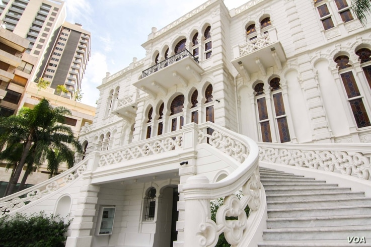 The Sursock Museum first opened to the public in 1961 (VOA photo - J. Owens).
