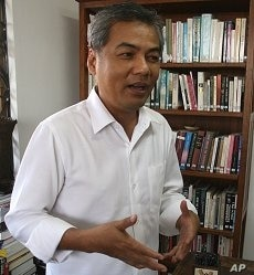 Youk Chhang, the director of the Documentation Center of Cambodia