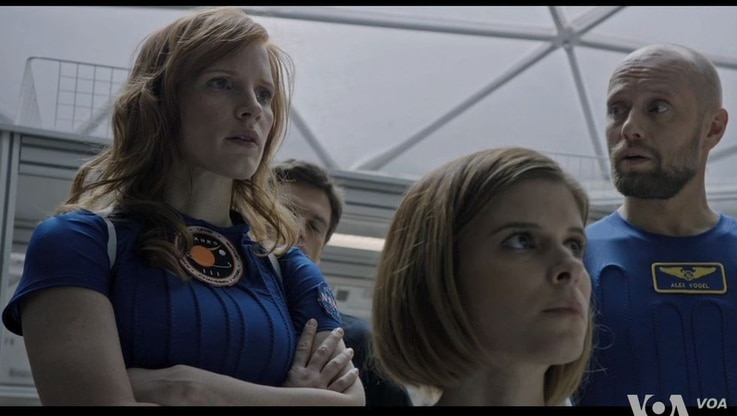 """Jessica Chastain plays Mars mission commander Melissa Lewis in """"The Martian."""""""