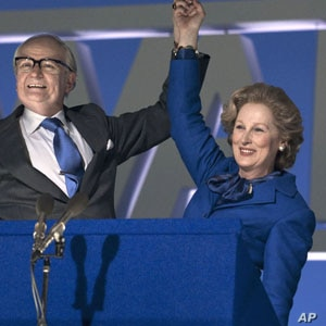 """Meryl Streep as British Prime Minister Margaret Thatcher in """"The Iron Lady."""""""