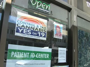 Proposition 19 would legalize small amounts of marijuana for recreational use, despite a federal law against it.