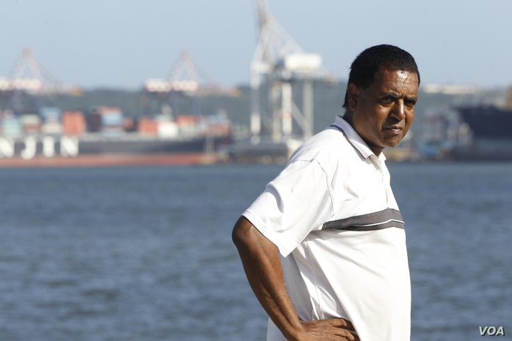 Desmond D'Sa is opposed to the $10 billion project to expand Durban's port, which he says would displace thousands of people, exacerbate waste management problems and increase pollution. (Goldman Environmental Prize)