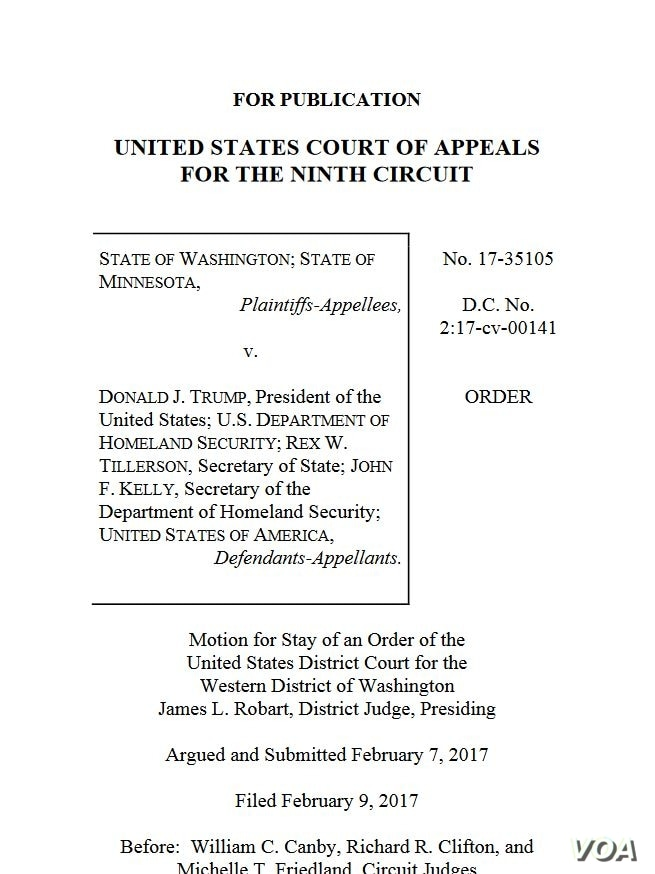 9th Circuit Court of Appeals ruling