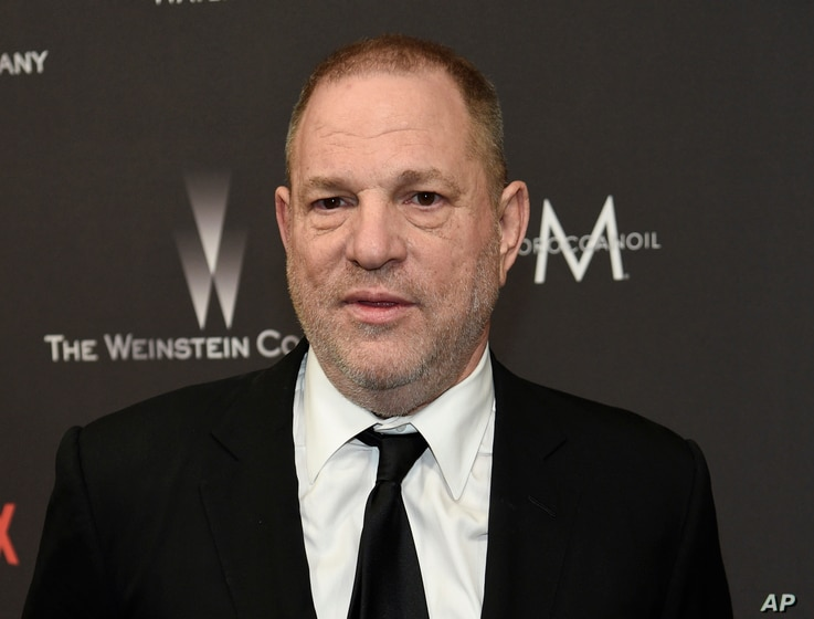 FILE - Harvey Weinstein arrives at The Weinstein Company and Netflix Golden Globes afterparty in Beverly Hills, Calif., Jan.  8, 2017.