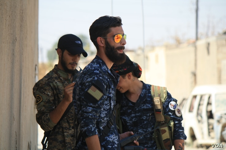 Units of U.S.-led coalition backed Kurdish and Arab fighters have taken much of Raqqa, once the de-facto capital of the self-proclaimed Islamic State, but the fighting is expected to continue for months, Aug. 20, 2017. (H.Murdock/VOA)