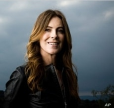 """The Hurt Locker"" director Kathryn Bigelow receives the award for Best Director 50 and over."