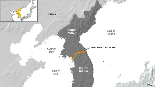North and South Korea, Demilitarized Zone