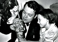 Orson Welles' daughter recalls fondly traveling in Europe with her father, who introduced the young Christopher to the arts