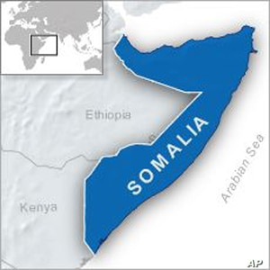 Helicopter Attacks al-Shabab-Held Town