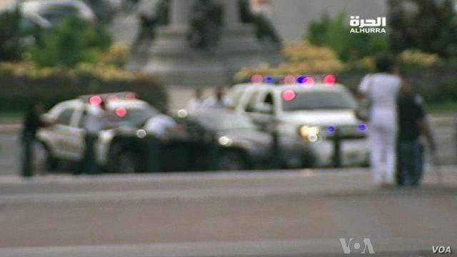 AlHurra TV video of car chase on Capitol Hill, Oct. 3, 2013