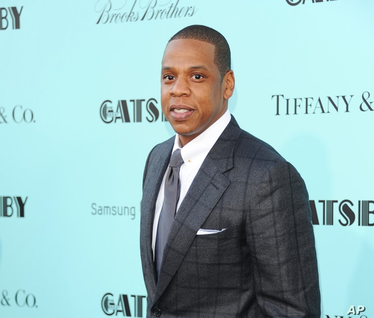 "Jay-Z attends ""The Great Gatsby"" world premiere at Avery Fisher Hall in New York, May 1, 2013."