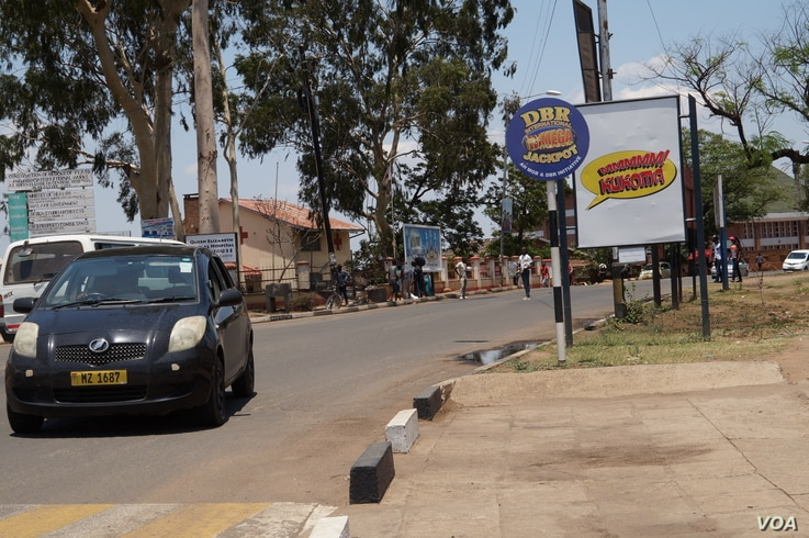Part of Mahatma Gandhi Street in Blantyre names after the Indian leader years ago. The protesters say people failed to protest against the road because that time there was no freedom of expression.