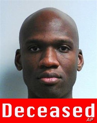 This image released by the FBI shows a photo of Aaron Alexis, who police believe was a gunman at the Washington Navy Yard shooting in Washington, Sept. 16, 2013.