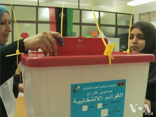 Libyans Hold Emotional Multi-Party Election, First in 60 Years