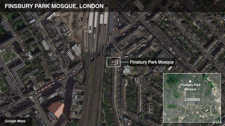 Finsbury Park Mosque, London