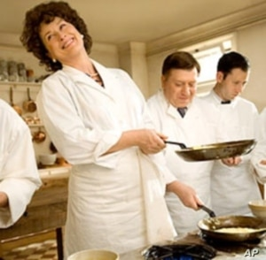 """Streep received her 16th Academy Award nomination for her portrayal of chef Julia Child in """"Julie & Julia""""."""