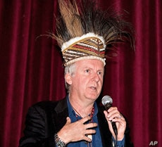 Director James Cameron says 'Avatar' was meant to be a wake-up call to the civilized world.