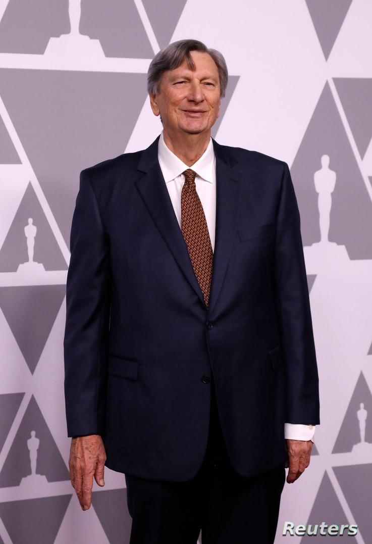 President of the Academy of Motion Picture Arts and Sciences John Bailey arrives at 90th Oscars Nominees Luncheon in Los Angeles, Feb. 5, 2018.