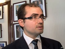 Radwan Ziadeh, founder of the Damascus Center for Human Rights Studies