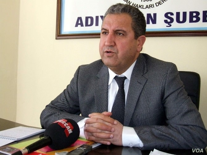 Osman Suzen, 51, a lawyer and human rights activist in the southeast city of Adiyaman