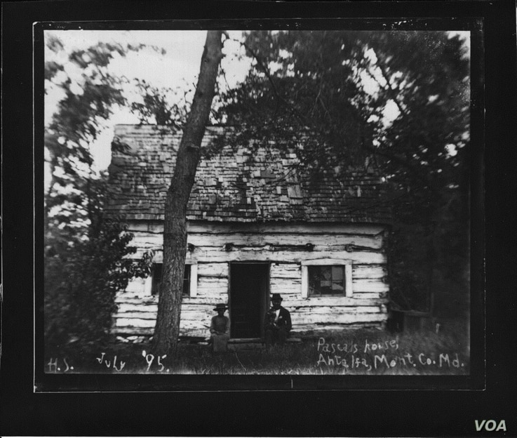 After the Civil War, freed black slaves began buying land and building homes like the Pascal Botts cabin, circa 1895, and eventually a community that lasted about 100 years, according to Amy Rispin, local historian of the Little Falls Watershed Allia...