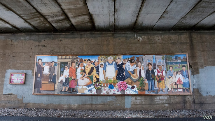 "Using photos of local grandmothers as inspiration, an East Boston ""Immigrant Grandmothers"" mural aims to capture the similarities of each generation's stories in a single frame."