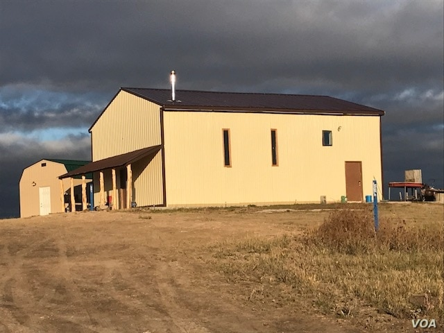 This April 10, 2017 photo shows the Charging Buffalo Meat House on the Pine Ridge Indian Reservation.  One Spirit, the nonprofit which raised funds for the project, anticipates it will be up and running by mid-2018.  Courtesy:  One Spirit.