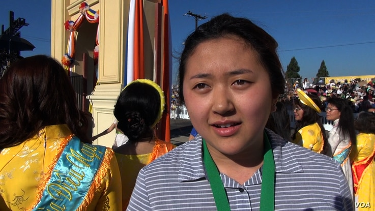 """""""I remember when we started building this,"""" Jessica Ha says of the Dieu Ngu Temple. """"Our monks' biggest dream was to have the Dalai Lama come and talk."""" (M. O'Sullivan/VOA)"""