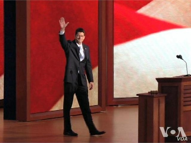 Vice President Nominee Paul Ryan Addresses the Republican National Convention