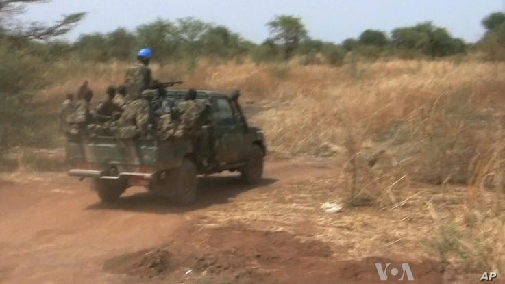 South Sudan: SPLA Soldiers Hold Frontline Position
