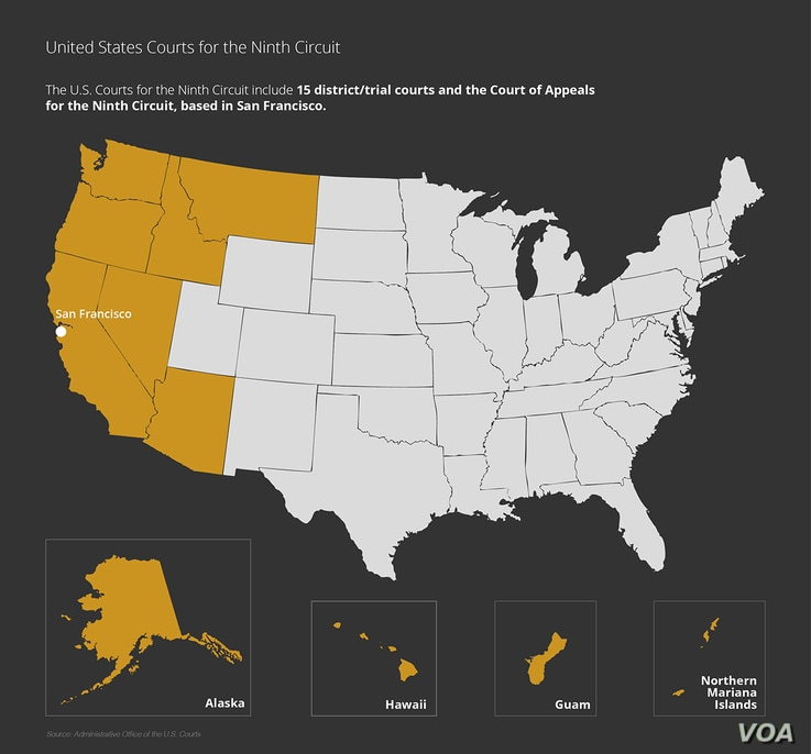 Courts Explainer: 9th Circuit Court Map
