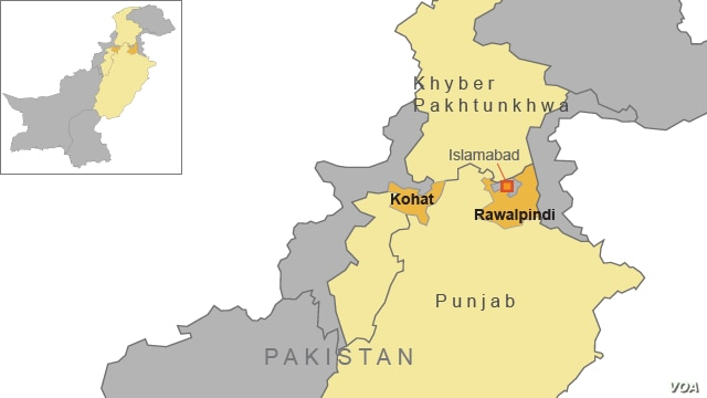 Protesters Attacked in Kohat, Pakistan