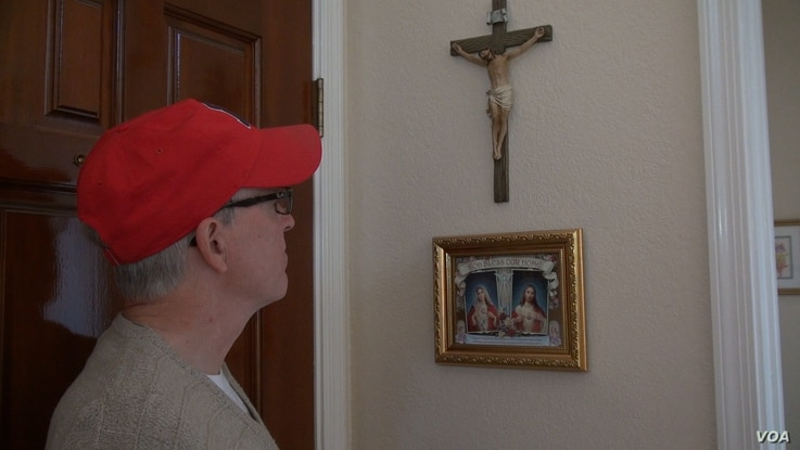 """Frank Lister is a conservative Catholic who is motivated by his faith. """"It's been frustrating to a conservative that we send people to Washington and they don't really do anything,"""" Lister said, Feb. 19, 2017 in Phoenix, Arizona."""