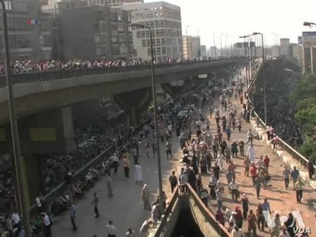 Egypt's Protest Crackdown Draws Criticism in West, Pro-Morsi Nations