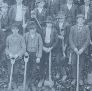 The first students at Berea were children of poor farmers, who could not afford to pay for a college education.