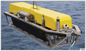 """The Phoenix Synthetic Aperture Sonar, or ProSAS-60, provides a """"higher degree of resolution,"""" especially at the outer ranges of sonar. (Photo courtesy of Phoenix International Holdings, Inc.)"""