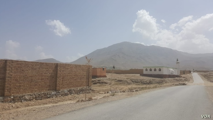 This photo shows the place in Chakri village where Qumandan Nazar was killed by the Taliban. (A. Tanzeem/VOA)