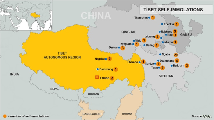 Tibetan Self-Immolations, Through November 20, 2012