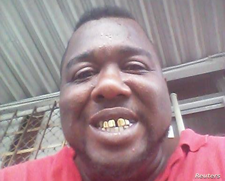 FILE - Alton Sterling, who was shot dead by police in Baton Rouge, La., on July 5, 2016, is seen in an undated photo posted on his Facebook account.