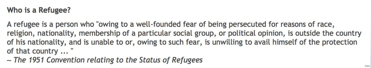 The 1951 Convention relating to the Status of Refugees