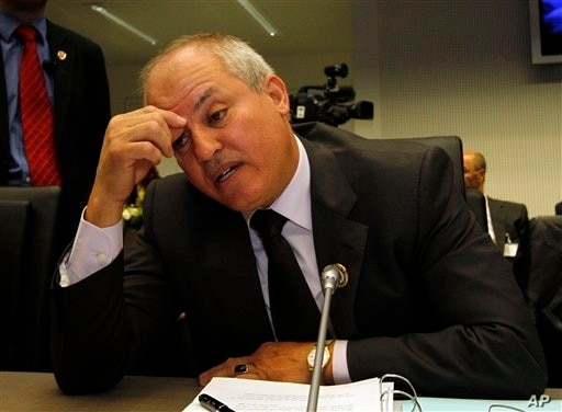 Libyan Oil and Gas minister Abdel Bari Ali al-Arousi is deailing with a lot of problems these days.